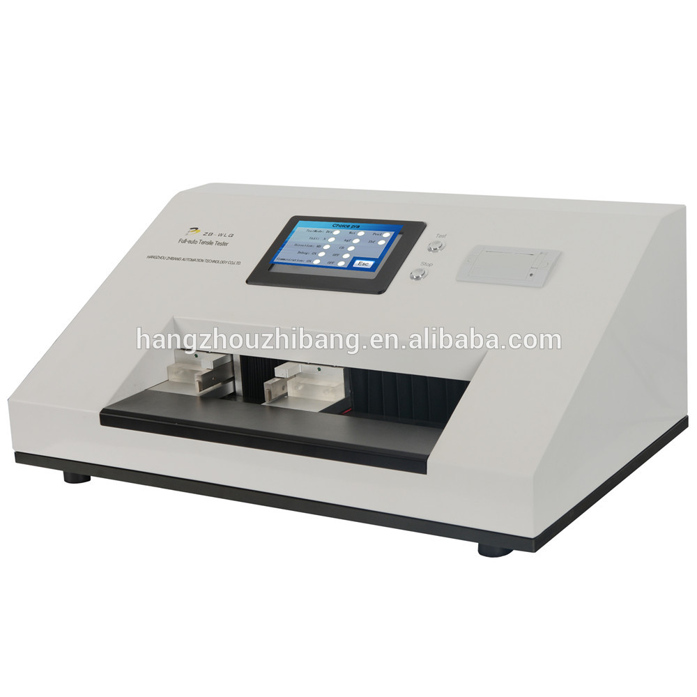 China factory automatic wet tensile tester