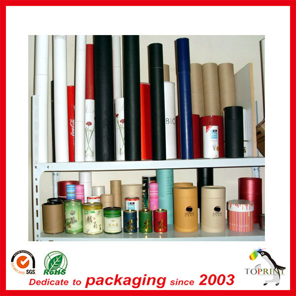 China Manufacturer factory OEM custom paper tube packaging cosmetic/food/wine/tea/coffee/clothes