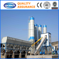 HZS150 Staionary Cement Mixing Weighing Hopper Machine Malaysia