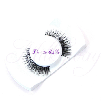 Different styles natural strip mink eyelash handmade mink fur lashes with private label