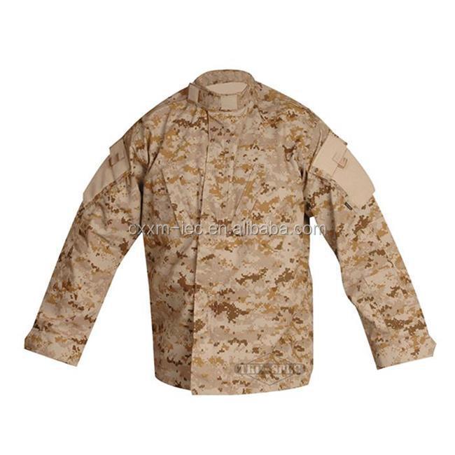 Militar Tático Digital Camo Camisa Casacos de TRU