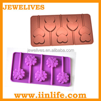 Silicone lollipop/silicone ice mold, lollipop molds/cake pops