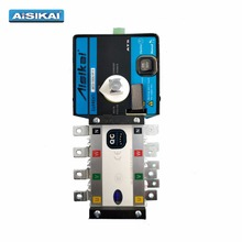 Aisikai changeover switch automatic transfer switch 110V 100a 2 phase ats
