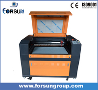China supplier laser engraving machine for acrylic, wood, fabric/ laser cutting machines for woodworking