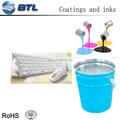 Good painting silicone colorful spray for silicone keyboards