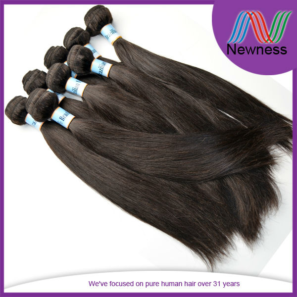 100% Unprocessed 5A Human Virgin Peruvian Different Color Hair Weaves