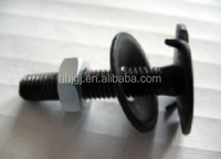 Higt Strength Car Seat Belt Bolts with Flange Head (black finish) Belt Fastener for Bucket Elevator
