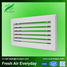 High quality plastic louvers for doors ventilation air diffuser system