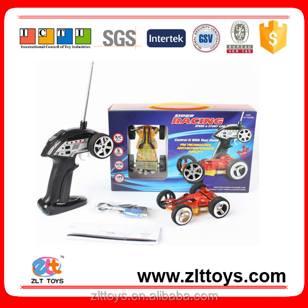 Five-speed transmission double-sided radio control toy car