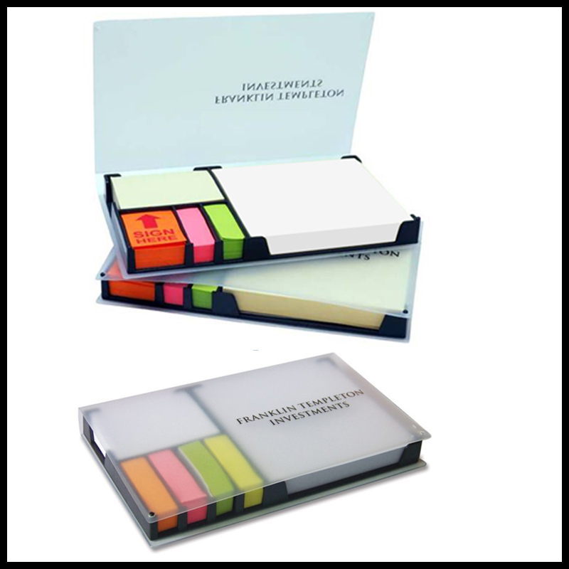 4 colors Article Index decorate letter shaped sticky notes with memo pads