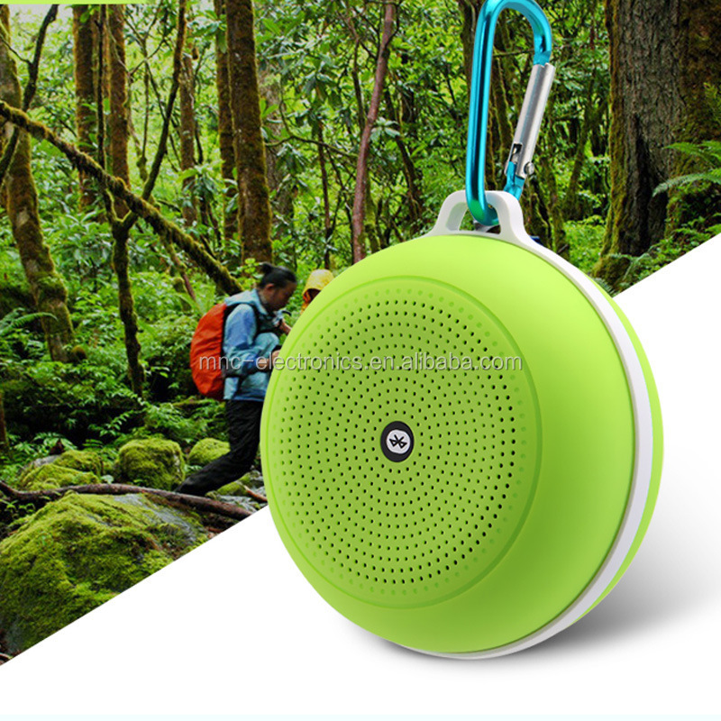 Outdoor travelling bluetooth speaker, TF card/FM radio/Aux line in sport mini speaker, hands free call wireless speaker