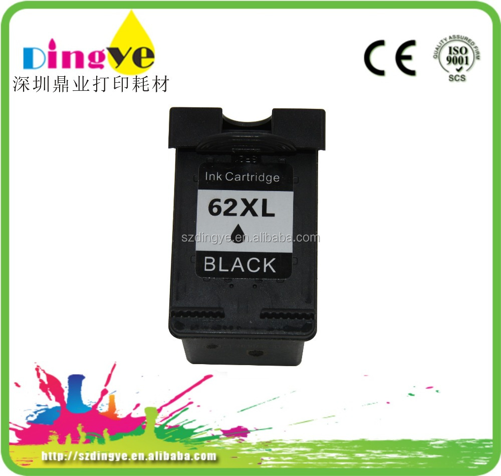 world best selling product For hp 62 ink cartridge recycle ink cartridge for hp 62