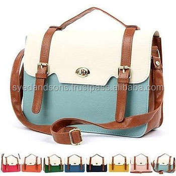 Ladies Leather Hand Bag 1003