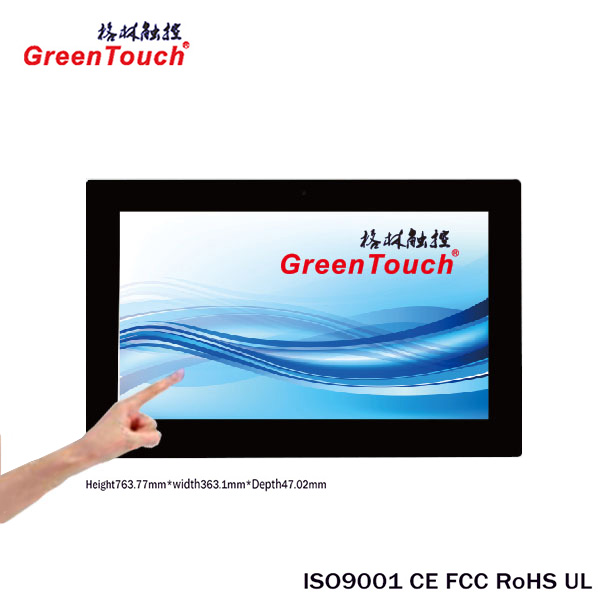 wall mount 32 inch wifi interactive network advertising android tablet pc