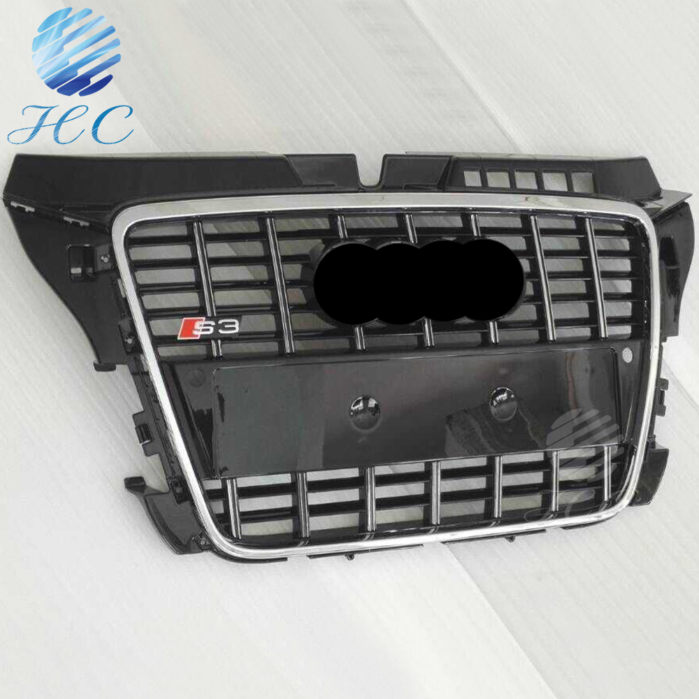 2008-2012 front chrome car grille 8p for audi a3 s3