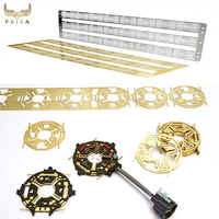 Customized precision metal stamping part / sheet metal fabrication service supplier
