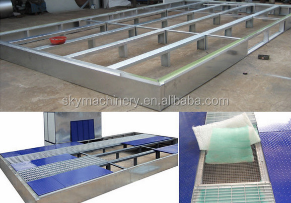 Auto baking oven/ car painting room/ automotive spray booth