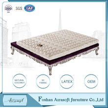 Newest natural latex foam mattress memory foam mattress pad