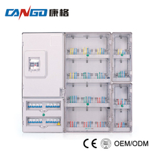 KG-J1601E High Quality Enclosure Single Phase Electric Meter Box With ABS Material