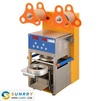 Hot sale full automatic digital selaer 400kw fruit jelly cup sealing machine