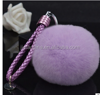 Promotional wholesale cheap price plush keychain