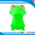 Cartoon plastic squeeze toy, OEM vinyl plastic baby squeeze toys ,Custom eyes pop out squeeze toys factory