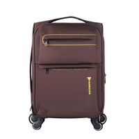2015 latest style four wheels nylon suitcase