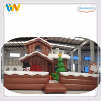 popular sale modern house design inflatable bouncer castle fun city toy for kids