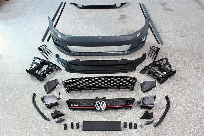 2014 vw golf 7 gti style body kit golf 7 gti body kit. Black Bedroom Furniture Sets. Home Design Ideas