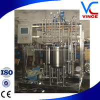 2016New Design Plate Type Beer Pasteurizer