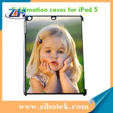 New 2D PC sublimation cover for iPad Air (5) with metal insert sublimation printing