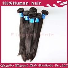 Excellent Soft Thick Human Hair Extension Type 100% Unprocessed Queen Virgin Brazilian Hair