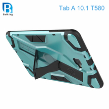 Newest Stand Holder Shockproof Tablet Cover Case for Samsung Tab A T580 Protect Cover