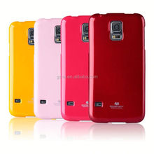 Fashion Goospery Jelly TPU Case For Samsung galaxy S3 S4 S5 mini, Soft Mercury Jelly TPU Phone Case