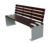 Patio Furniture Wooded Patio Bench