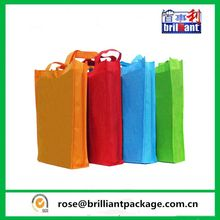 Eco Reusable Long Handle Non-Woven Fabric Tote Shopping Bag