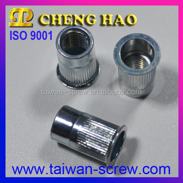 Wholesale Taiwan blind stainless knurled nut m6