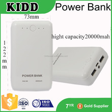 High Quality real capacity&cheap price 20000mah slim power bank charger of reseller opportunities