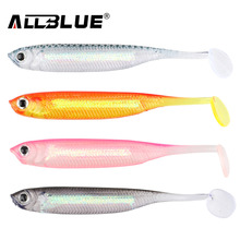 ALLBLUE Soft Lure 6pcs/lot 2.2g/70mm for Fishing Shad Fishing Swimbaits Jig Head Soft Lure Fly Fishing Bait China Fishing Shop