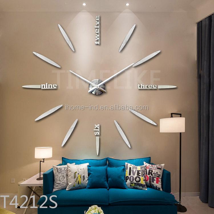 100cm gro e dekorative morrior diy wand uhr f r wohnkultur wanduhr produkt id 325943626 german. Black Bedroom Furniture Sets. Home Design Ideas