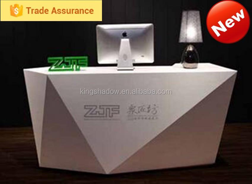 bianco banco reception per salone di negozio-Tavolo di reception ...