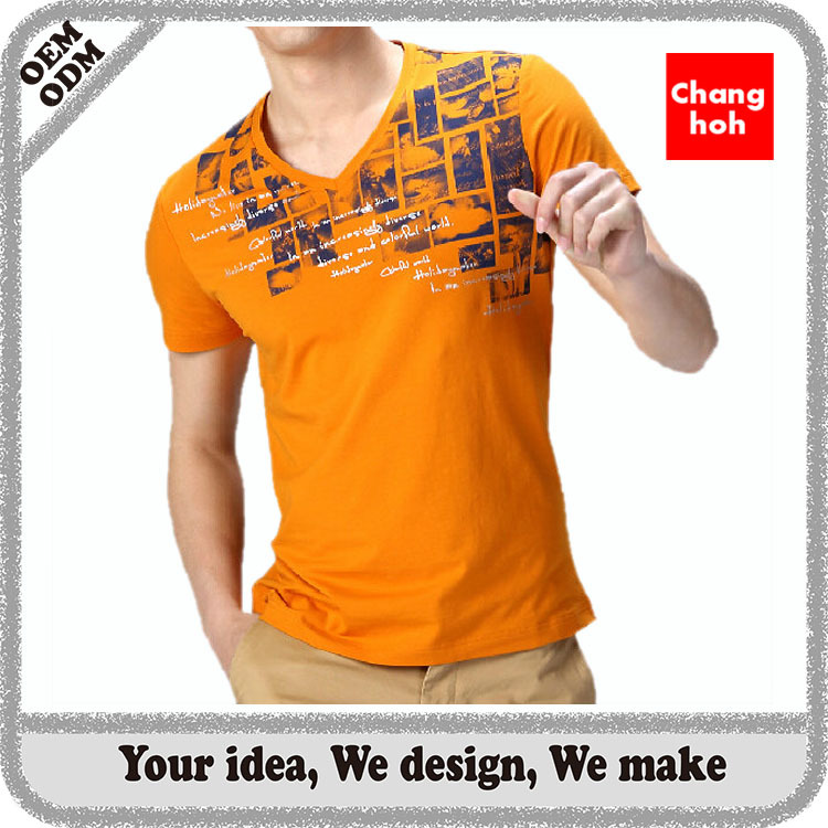 fashion men beautiful feel good knitted t shirt company