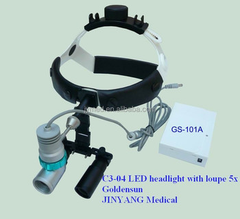 surgical microsurgery loupes with led head lamp