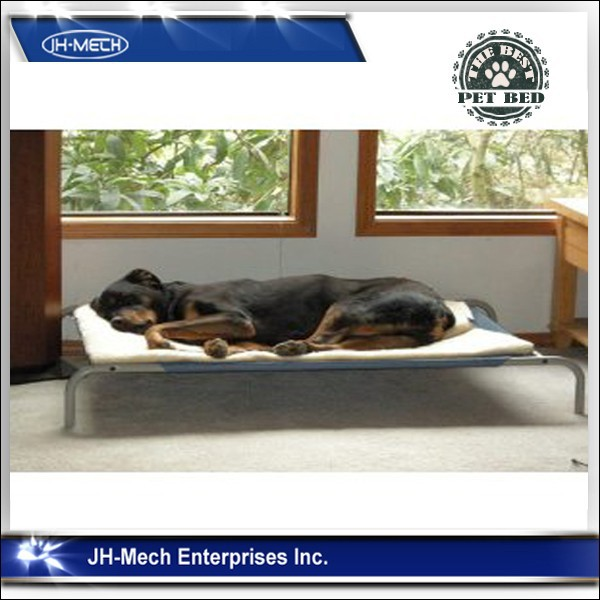 Elevated Pet Bed with Knitted Fabric for Dogs & Cats,large