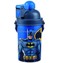 Plastic Custom Printed Tableware Kids Use 3D Water Bottle