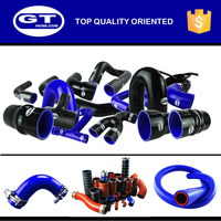 high temperature flexible customed silicone rubber bellows,coolant hose, silicone radiator hose