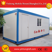 China Supply Sale Low Cost Prices Luxury 20ft Portable Live Prefabricated Modular Container House &home&office&