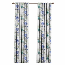SM001 New Product Flower 3D digital Printed Blackout Curtain