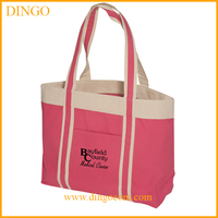 Promotional Logo Printed Custom Canvas High Quality Cotton Tote Bag