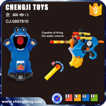 Wholesale shooting game soft bullet gun toy with counter for kids